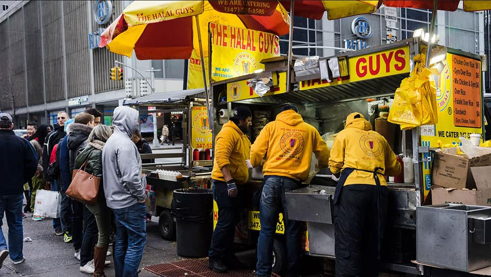 halal guys food cart