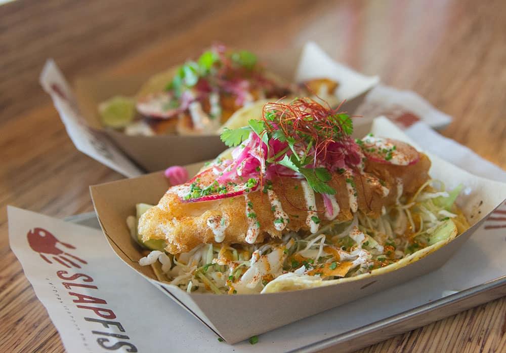 Slapfish taco