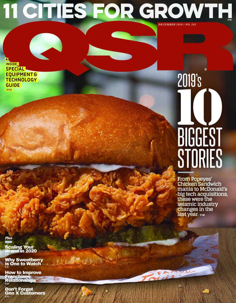 Curry Up Now QSR Magazine article cover