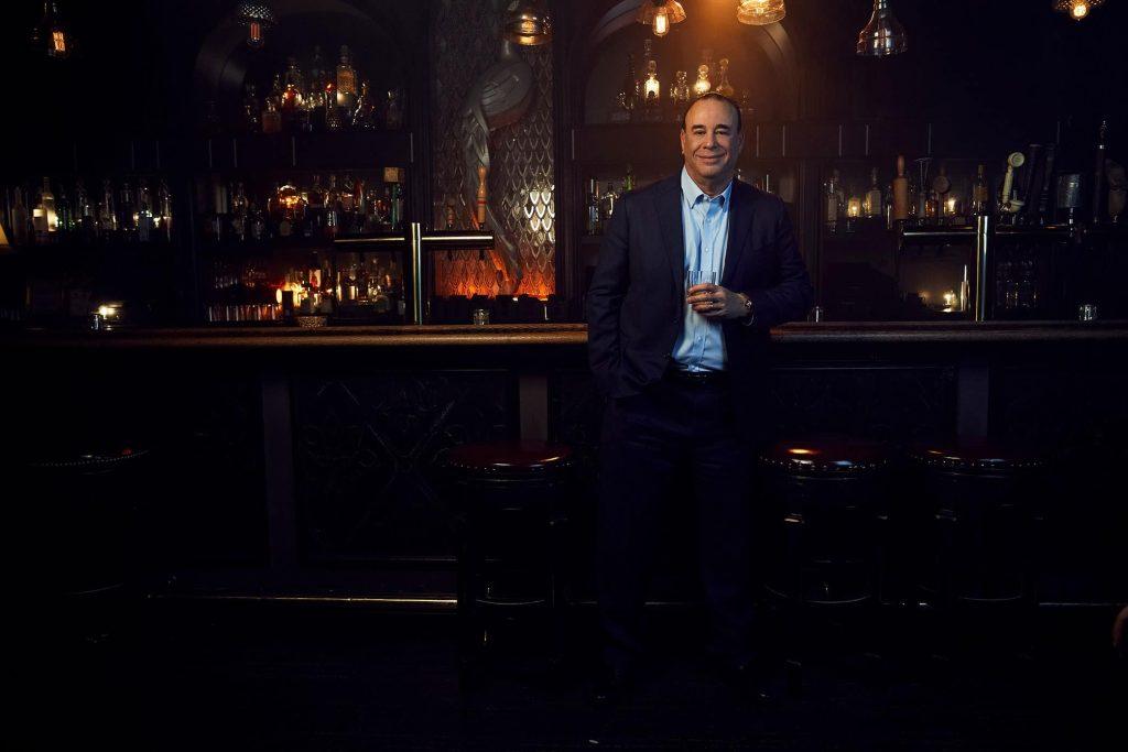 John Taffer in bar