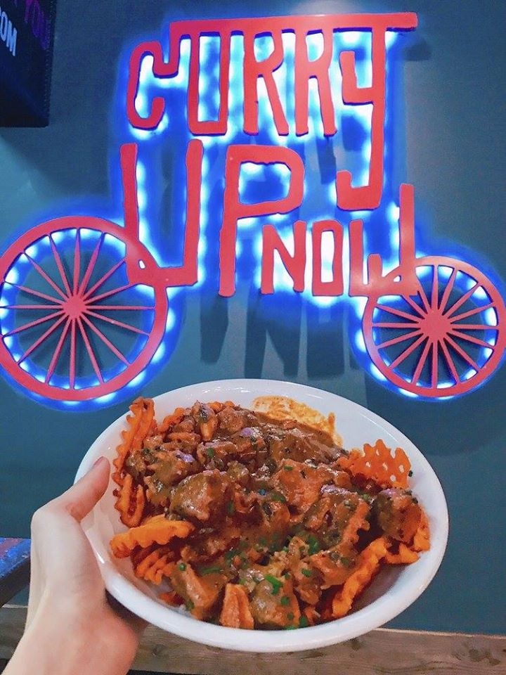 Indian food franchise, Curry Up Now logo