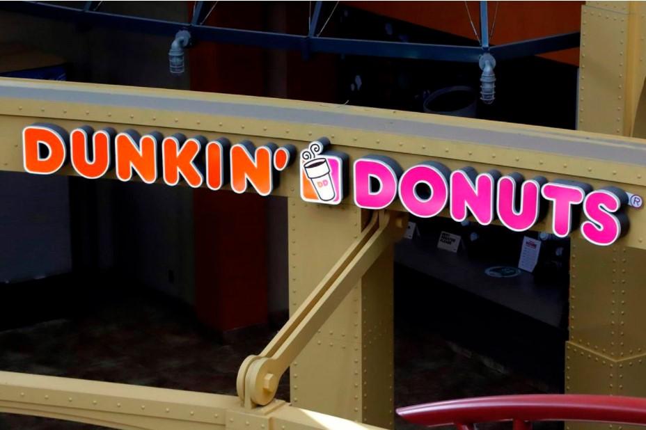 restaurant chain Dunkin Donuts logo