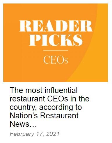 influential restaurant CEOs list