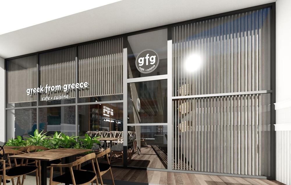 Philadelphia Franchise Location GFG Cafe